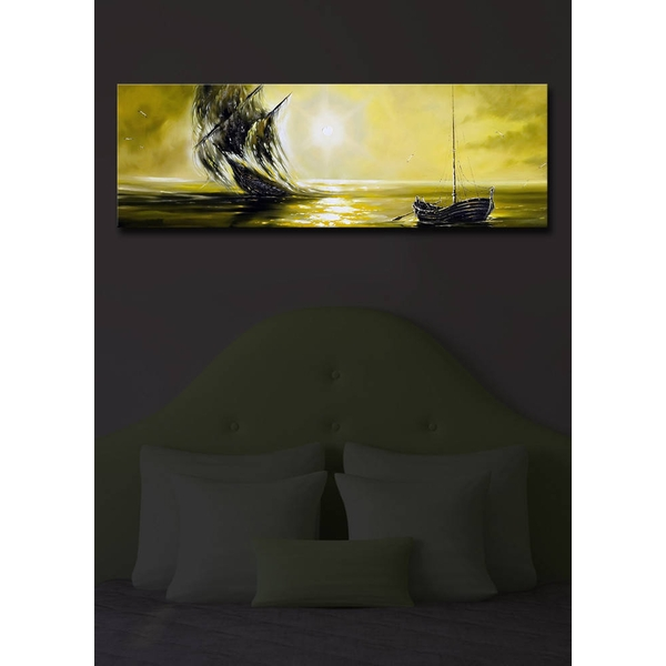 3090?ACT-16 Multicolor Decorative Led Lighted Canvas Painting