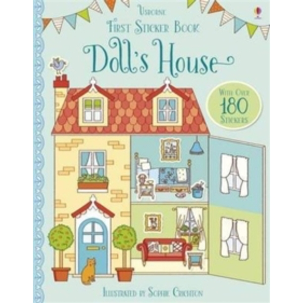 First Sticker Book Doll's House