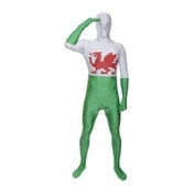 Premium Morphsuit Wales Flag Large