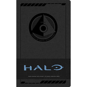 Halo Hardcover Ruled Journal Logo