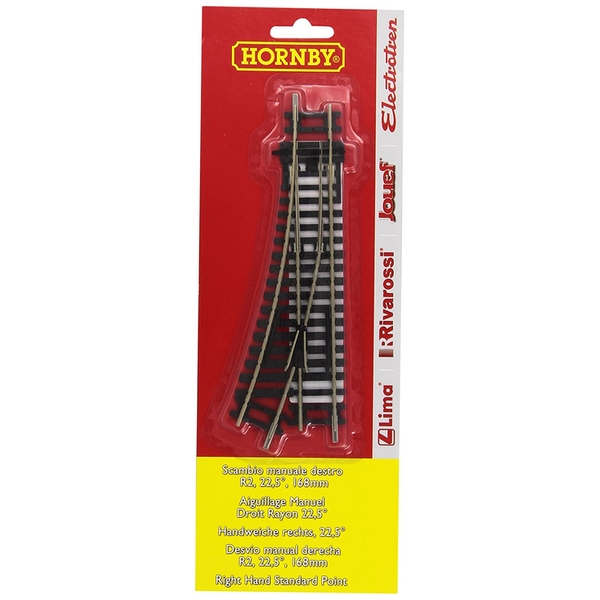 Hornby R8073 Right Hand Point x 1 BLISTER PK