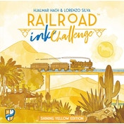 Railroad Ink Challenge - Shining Yellow Edition Board Game