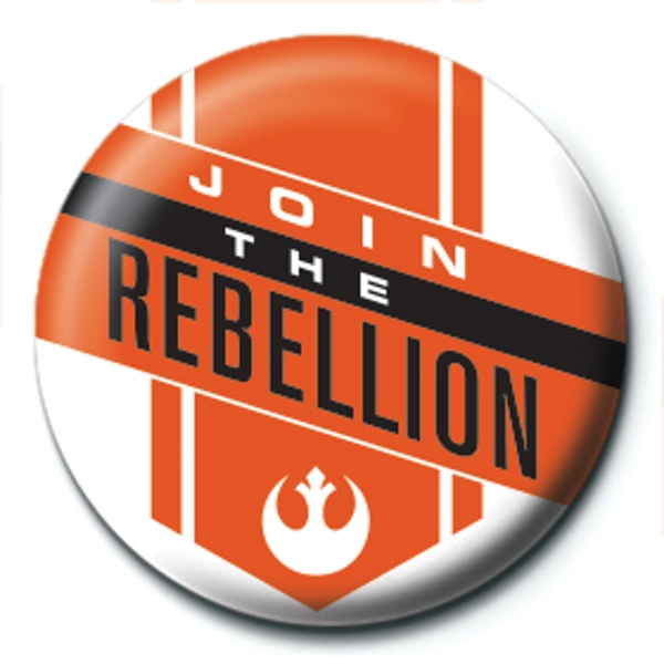 Star Wars - Join the Rebellion Badge