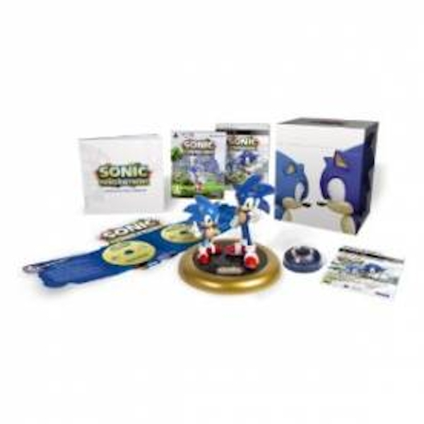 Sonic Generations Collector's Edition Game PS3