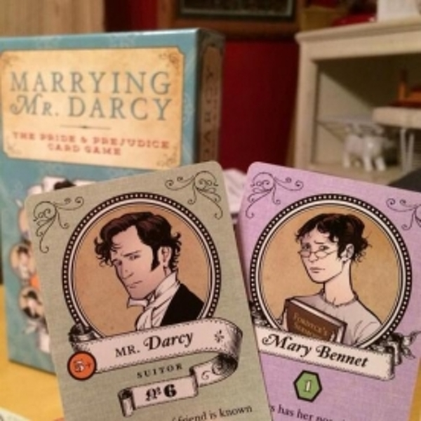 Marrying Mr. Darcy The Pride & Prejudice Card Game - Image 3