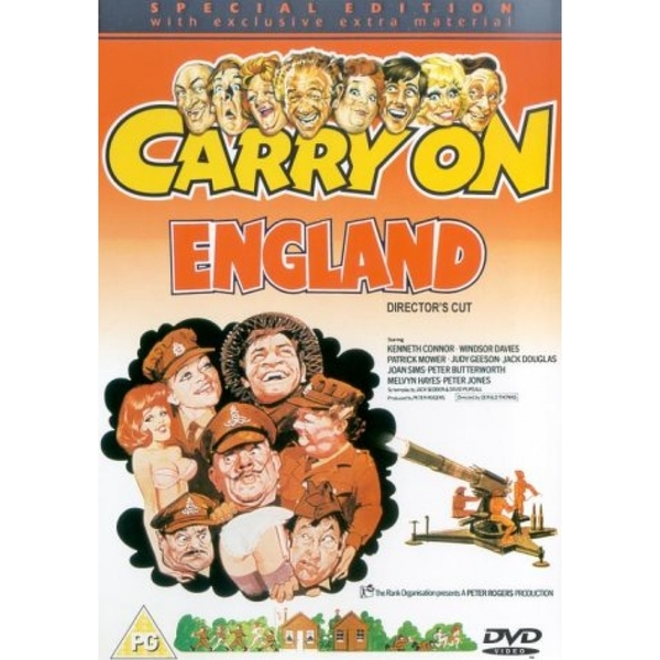 Carry On England (Special Edition) DVD