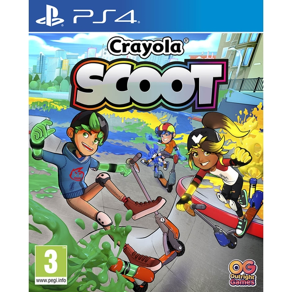 Crayola Scoot PS4 Game - 365games.co.uk