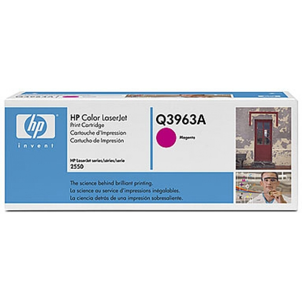 HP Q3963A (122A) Toner magenta, 4K pages @ 5% coverage - Image 2