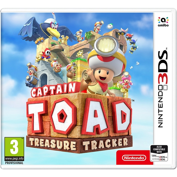 Captain Toad Treasure Tracker 3DS Game