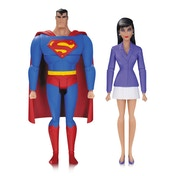 Superman & Lois Lane (Superman The Animated Series) Action Figure 2-Pack