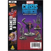 Marvel Crisis Protocol Miniatures Game - Magneto and Toad