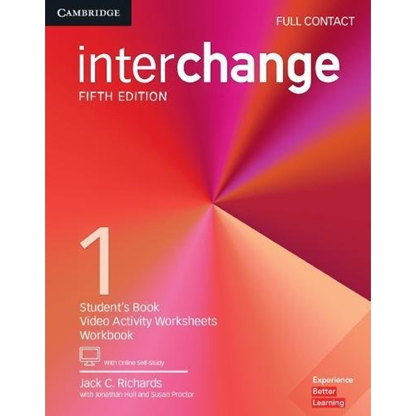 Interchange Level 1 Full Contact with Online Self-Study  Mixed media product 2017