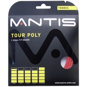 MANTIS Tour Polyester 17G String Set 12m Red