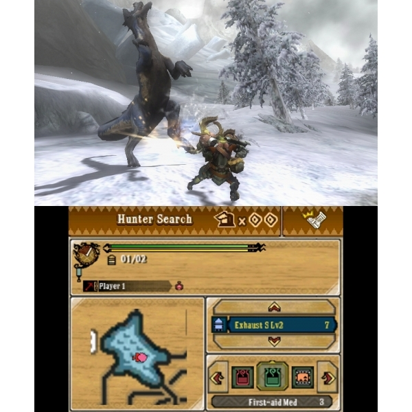 Monster Hunter 3 Ultimate Game 3DS - Image 3