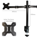 Dual Arm Monitor Bracket | M&W - Image 5