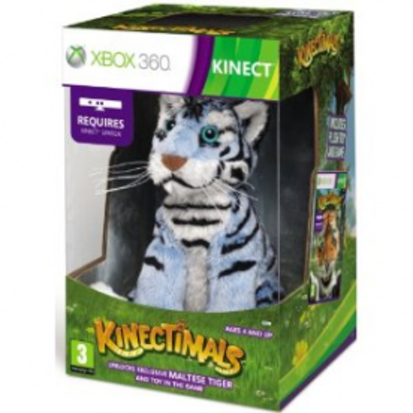 Kinect Kinectimals Limited Maltese Tiger Edition Game Xbox 360