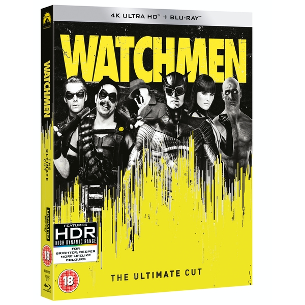 Watchmen: The Ultimate Cut 4K UHD + Blu-ray