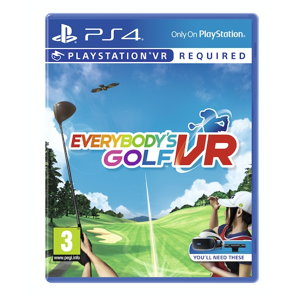 Everybody's Golf VR PS4 Game (PSVR Required)