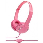 Groov-e GV897PK Streetz Stereo Headphones with Volume Control Pink