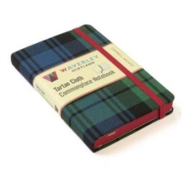 Campbell Ancient: Waverley Genuine Tartan Cloth Commonplace Notebook (9cm x 14cm) : 18