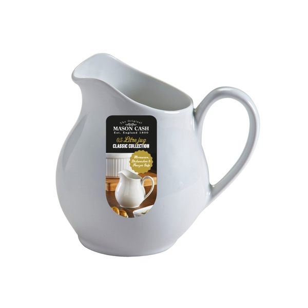 Rayware White Pitcher Jug 0.5L