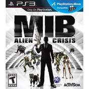 Men in Black 3 III MIB Alien Crisis Game PS3