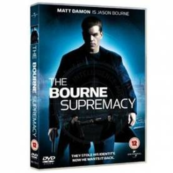 The Bourne Supremacy DVD