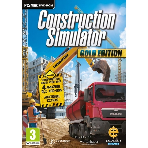 Construction Simulator Gold PC Game - Image 1
