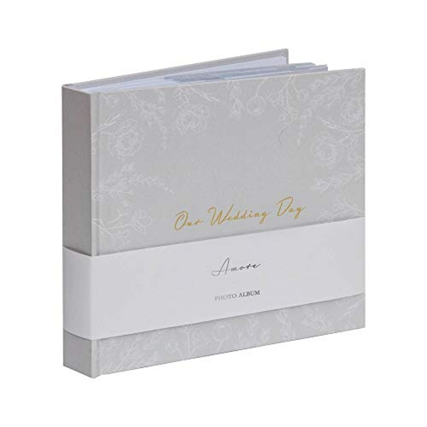 "AMORE BY JULIANA? Our Wedding Day Photo Album 4"" x 6"" 50 Pg"
