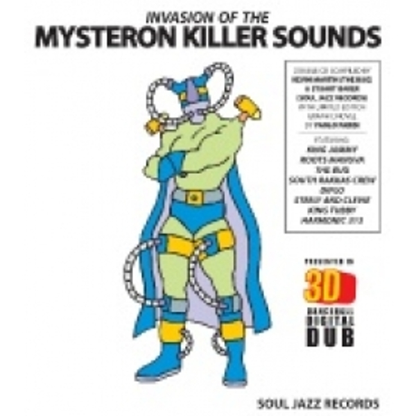 Soul Jazz Records Presents - Invasion Of The Mysteron Killer Sounds In 3D CD