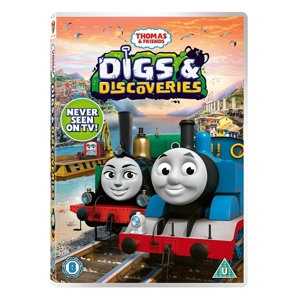 Thomas & Friends - Digs & Discoveries DVD