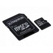 Kingston (16GB) microSDXC Class 10 UHS-I 45MB/s Read Card with Adapter