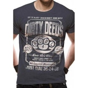 Ac/Dc - Dirty Deeds Duster Unisex T-shirt Grey Large