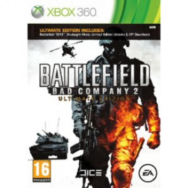 Battlefield Bad Company 2 Ultimate Edition Game Xbox 360