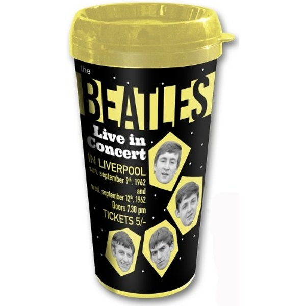 The Beatles - 1962 Live in Concert Travel Mug