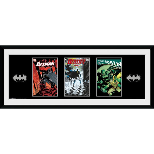 Batman Comic Comics Framed Collector Print