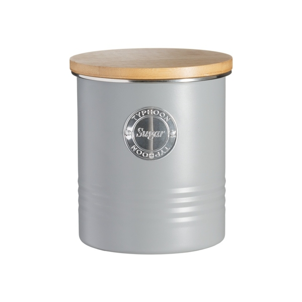 Living Sugar Canister Grey