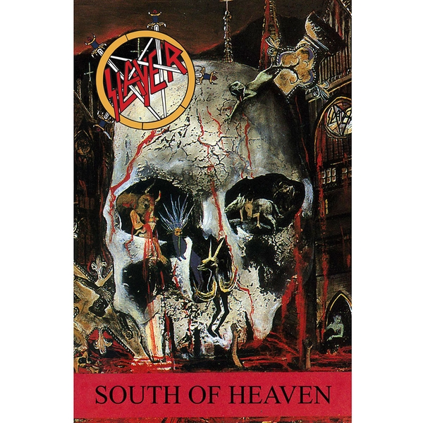 Slayer - South of Heaven Textile Poster