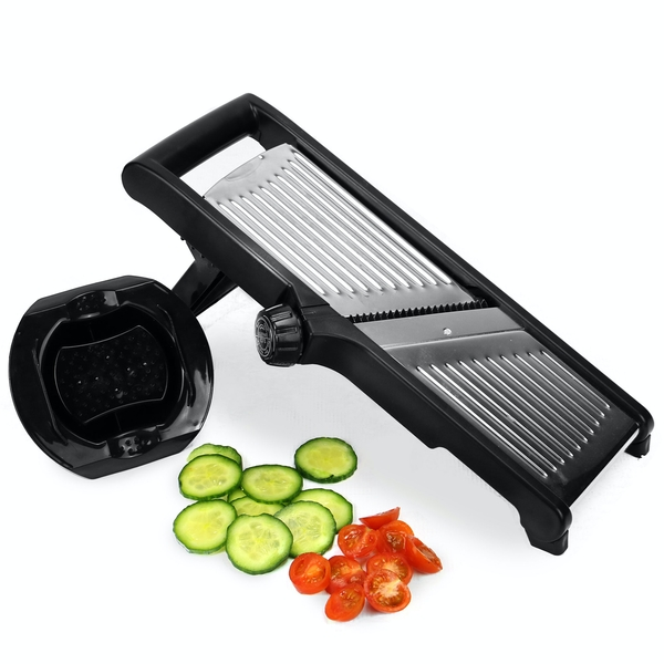 Mandoline Slicer with Gloves & Hand Guard | M&W - Image 1