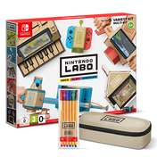 Nintendo Labo Toy-Con 01: Variety Kit for Nintendo Switch with Pencil Case & Marker Set