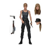 Neca Terminator 2 7 Inch Action Figure Ultimate Sarah Connor In Deluxe Window Box