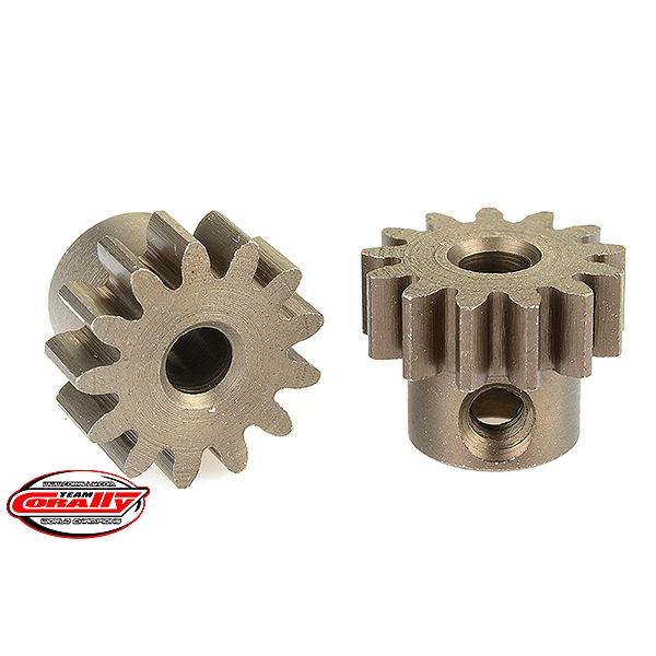 Corally 32 Dp Pinion Short Hardened Steel 13 Teeth Shaft Dia. 3.17Mm