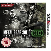 Metal Gear Solid Snake Eater Game 3DS