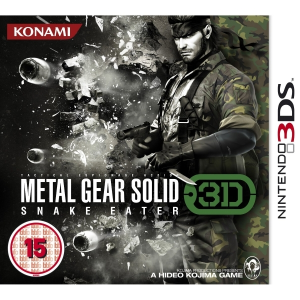 Metal Gear Solid Snake Eater Game 3DS - Image 1