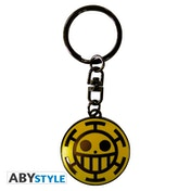 One Piece - Trafalgar Law Metal Keyring