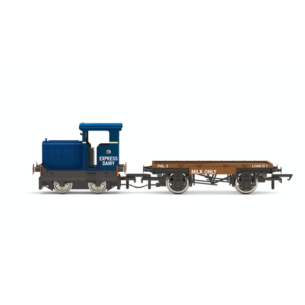 Hornby Express Dairy Co. Ltd Ruston & Hornsby 48DS Blue Locomotive Model