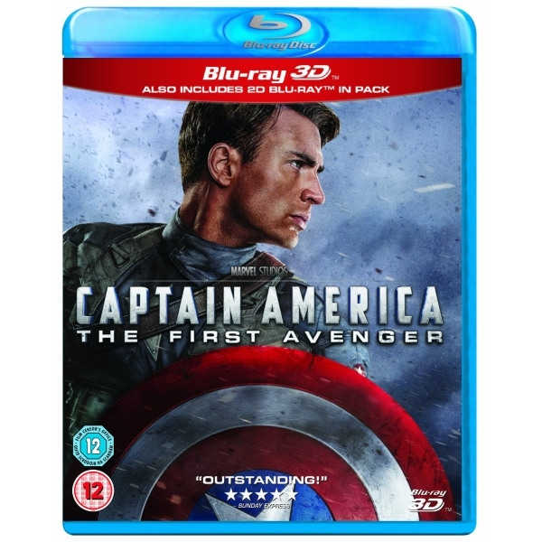 Captain America 3D 2D Blu-ray