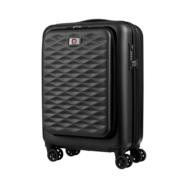 Wenger 604345 Lumen Expandable Hardside 20 Inch Luggage Suitcase