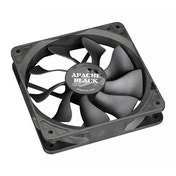 Akasa AK-FN058 Apache Black Super Silent 120mm Fan 4 Pin PWM