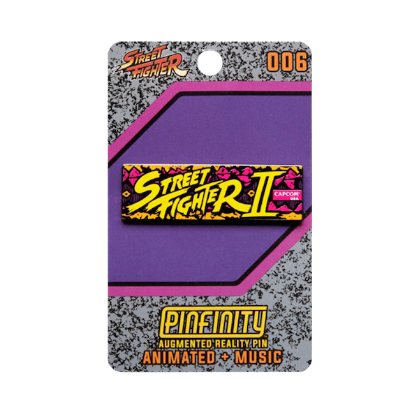 PFSF006 Street Fighter Marquee Augmented Reality Pin